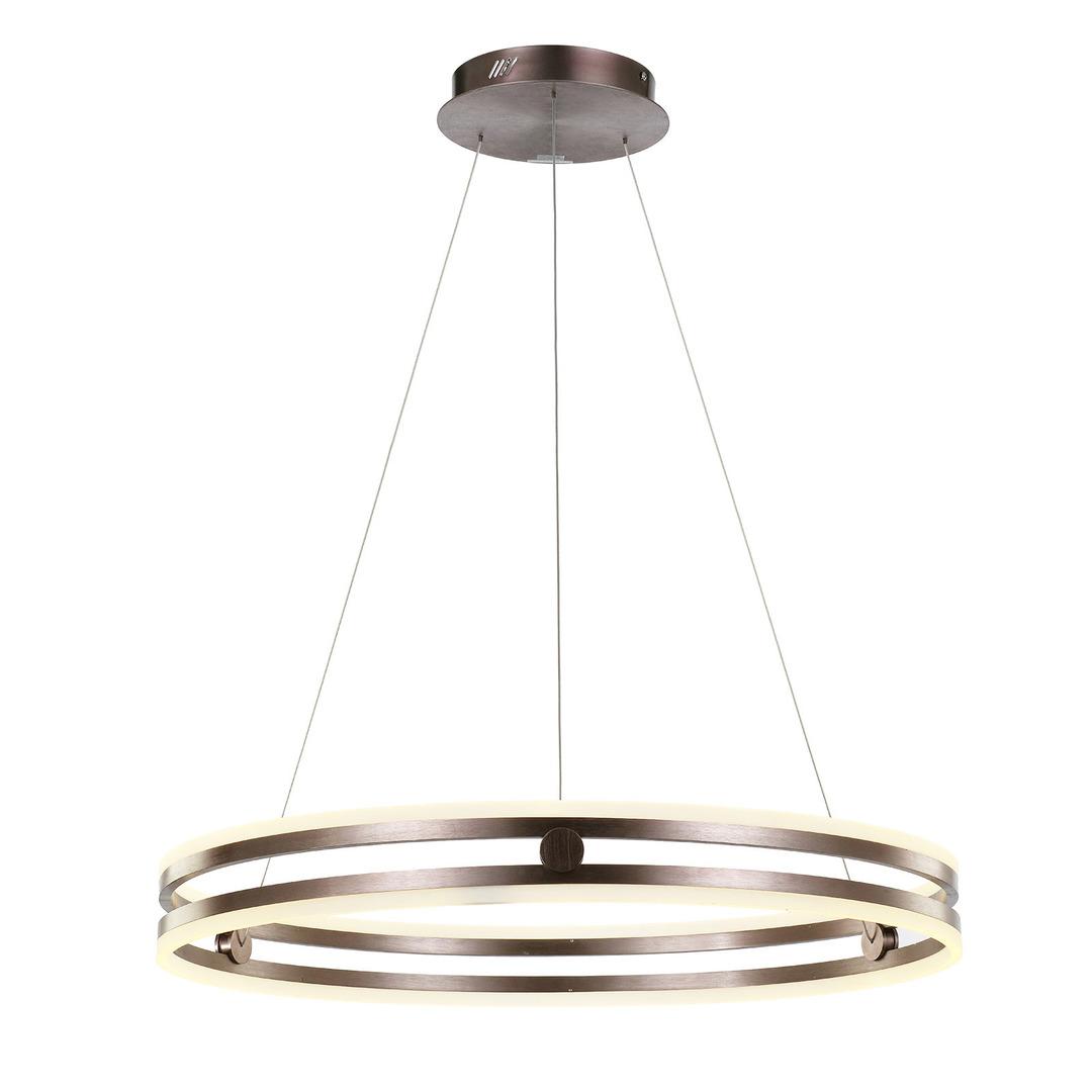 Brązowa Lampa Wisząca Lonia LED