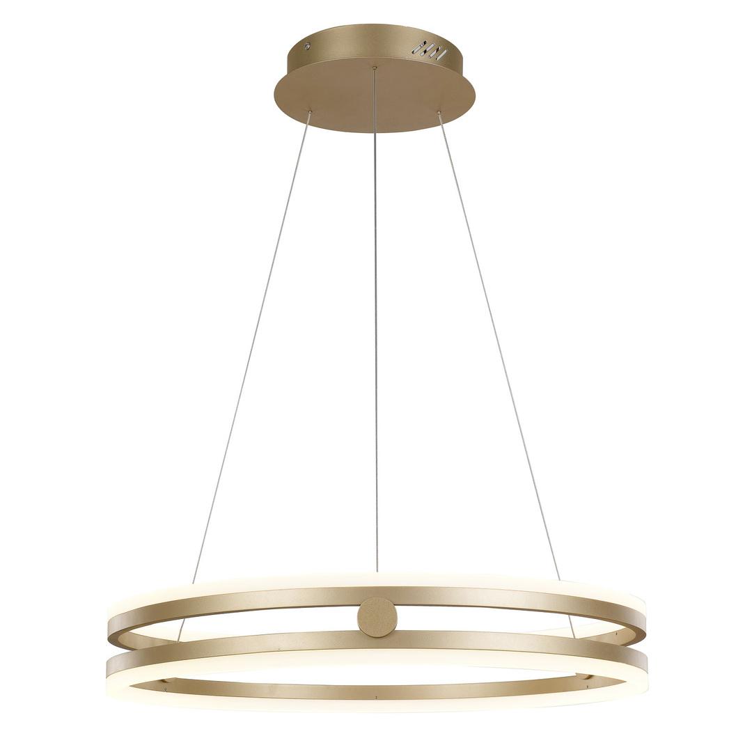 Złota Lampa Wisząca Lonia LED