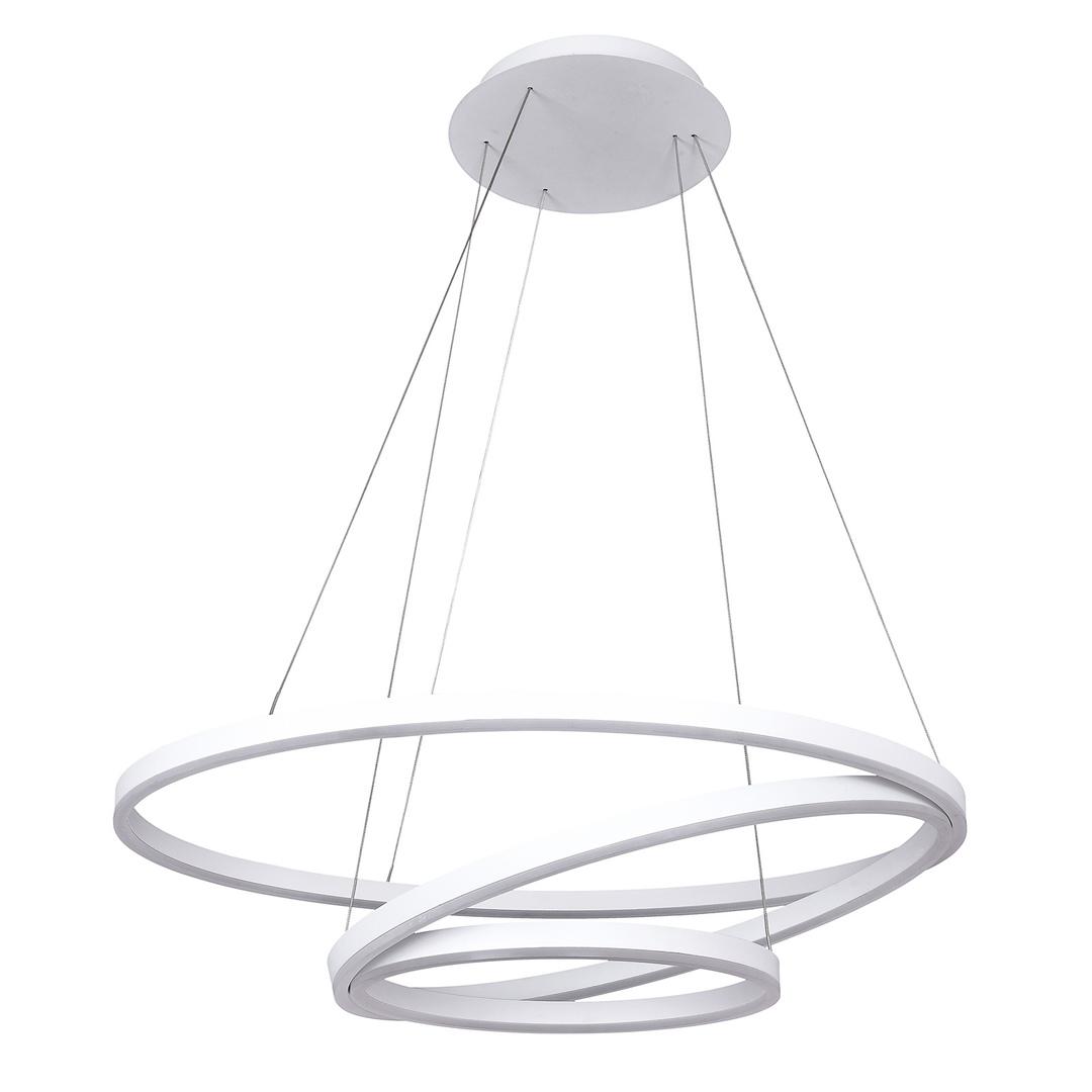 Biała Lampa Wisząca Lorita LED
