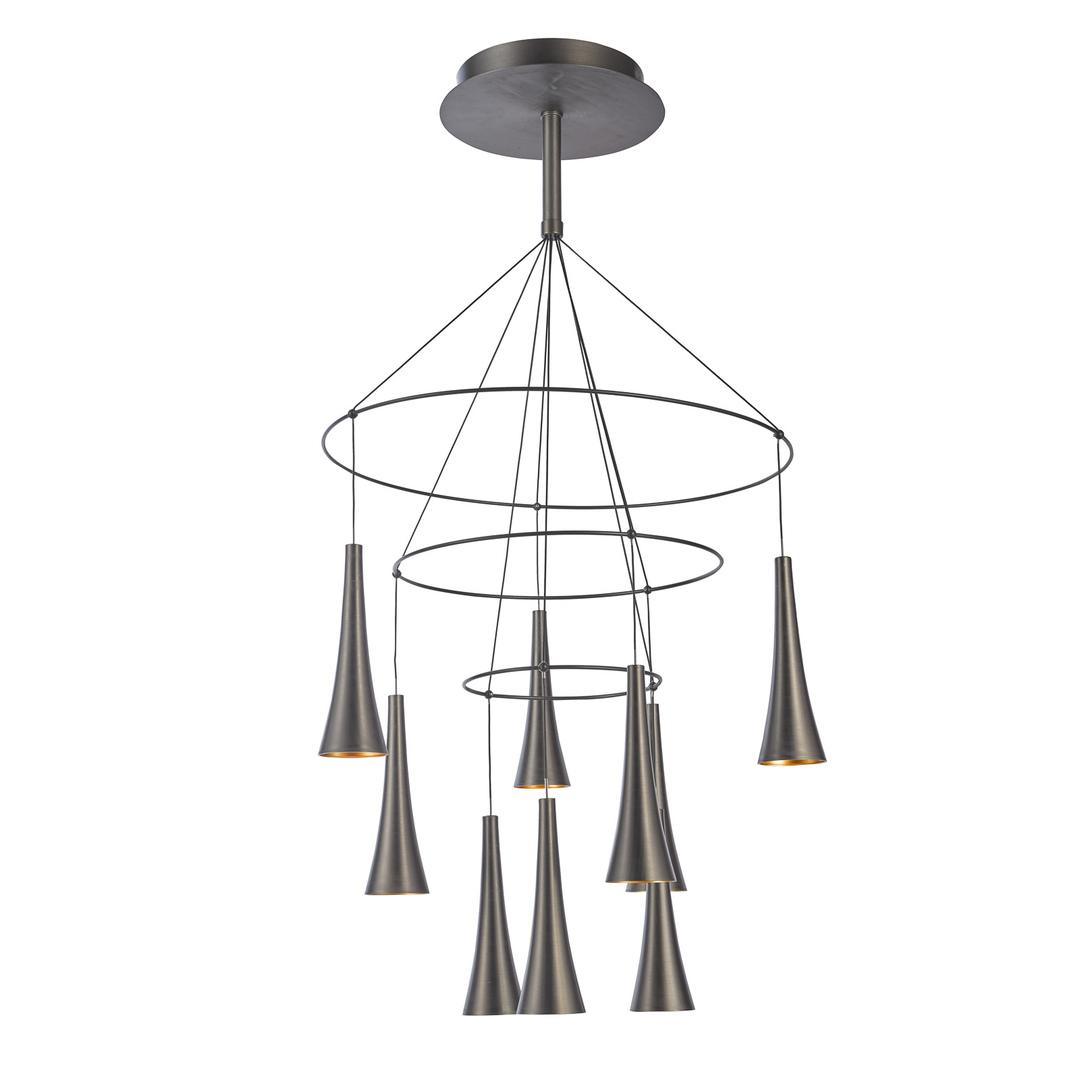 Brązowa Lampa Wisząca Luca LED