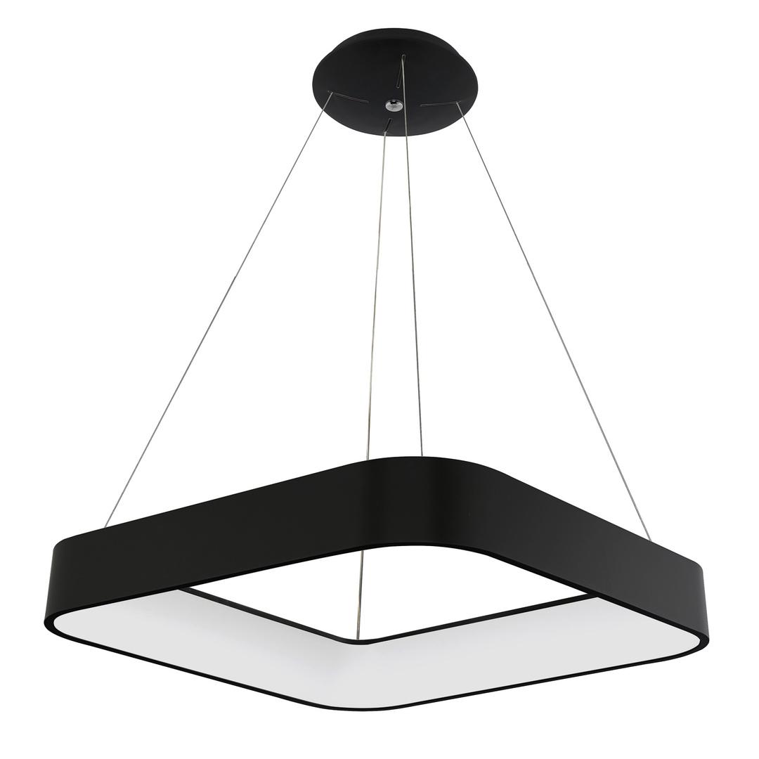 Czarna Lampa Wisząca Luigi LED