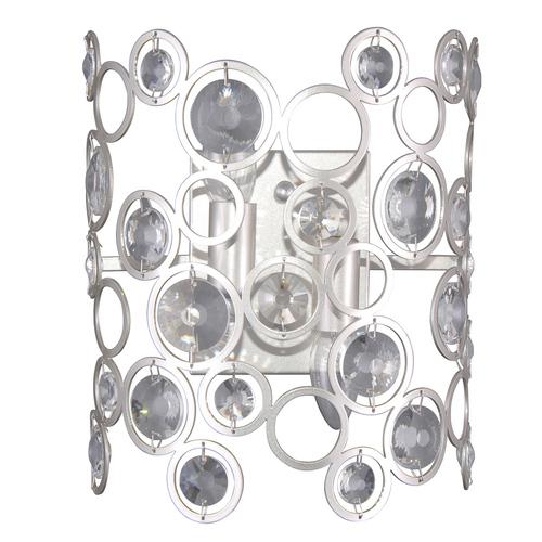 Srebrny Nowoczesny Kinkiet Nardo E14 2-punktowy
