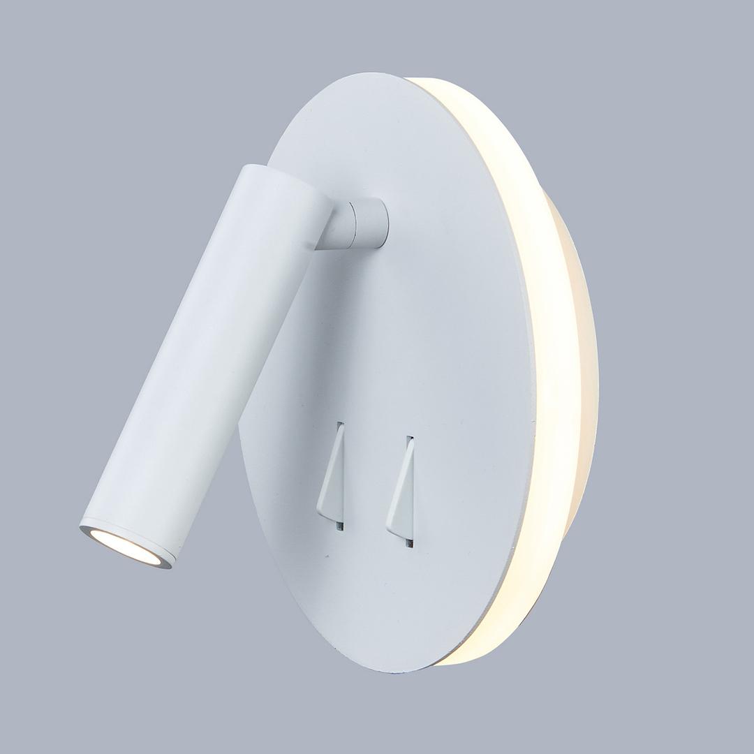 Biała Lampki Nocne Nemo LED