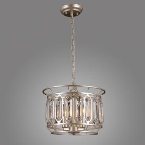 Srebrna Lampa Wisząca Priscilla E14 3-punktowa small 2