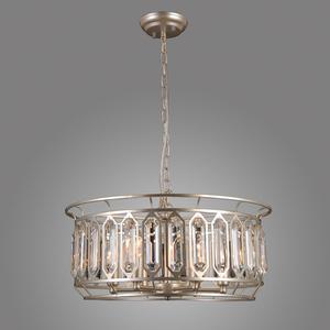 Srebrna Lampa Wisząca Priscilla E14 6-punktowa small 2