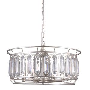Srebrna Lampa Wisząca Priscilla E14 6-punktowa small 0