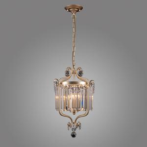 Klasyczna Lampa Wisząca z Kryształkami Rinaldo E14 3-punktowa small 1