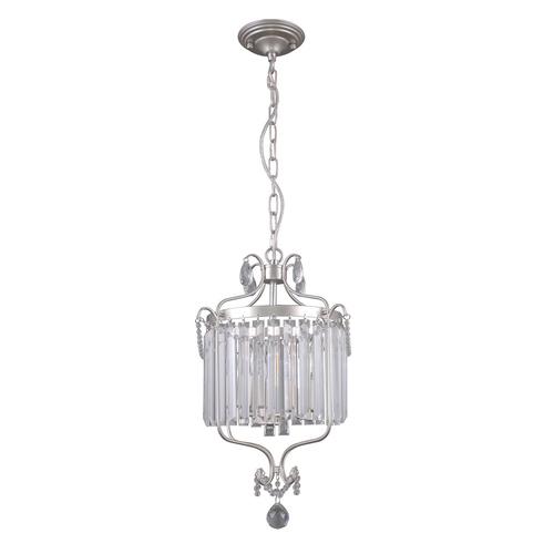 Klasyczna Lampa Wisząca z Kryształkami Rinaldo E14 3-punktowa