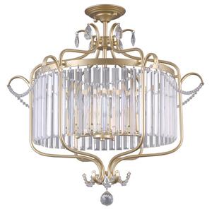 Klasyczna Lampa Sufitowa z Kryształkami Rinaldo E14 6-punktowa small 0