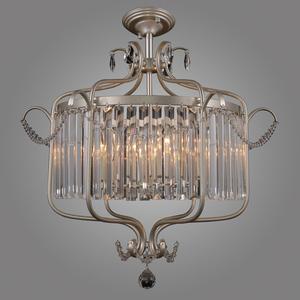 Klasyczna Lampa Wisząca z Kryształkami Rinaldo E14 6-punktowa small 1
