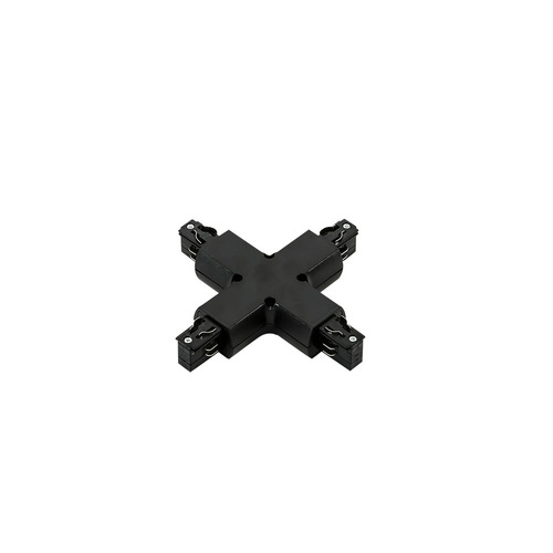 3 phase track - cross joint black