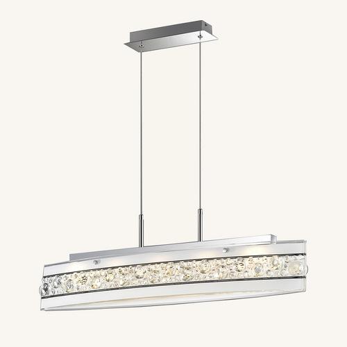 Biała Lampa Wisząca Franco LED