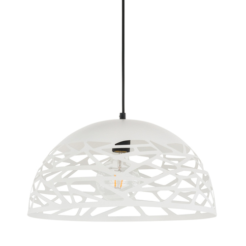 Biała Lampa Wisząca Armand E27