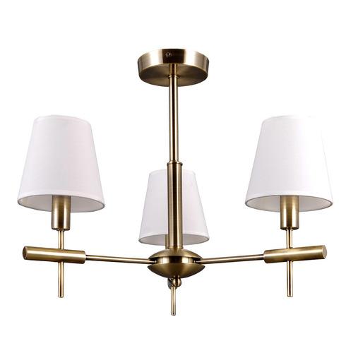 Stylizowany Złoty Żyrandol Balter E14 3-punktowy