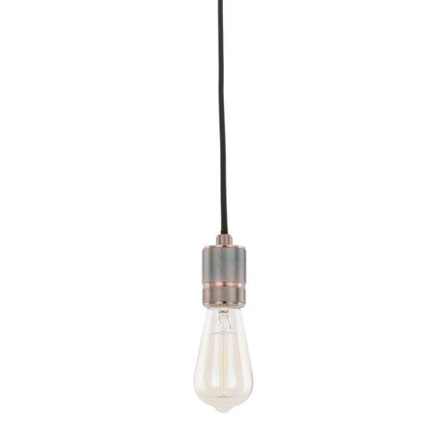 Czerwona Lampa Wisząca Casa E27