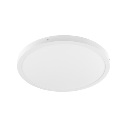 Biały Nowoczesny Plafon Glissy Round LED