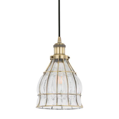 Brązowa Lampa Wisząca Finter E27