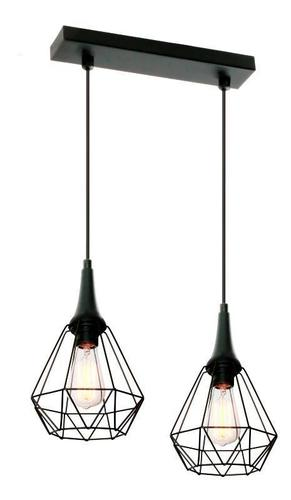 Designerska Lampa Wisząca Lofta 2 L