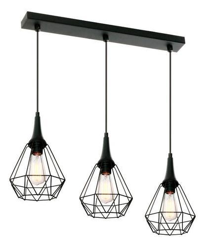 Designerska Lampa Wisząca Lofta 3 L