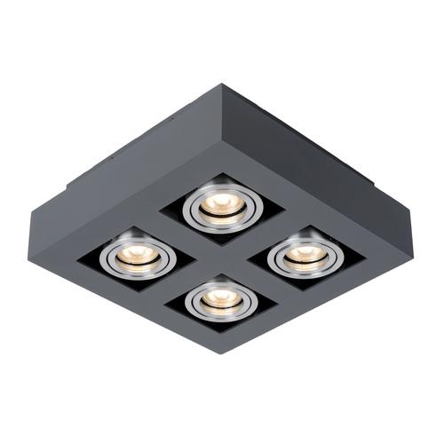 Nowoczesna Lampa Natynkowa Casemiro GU10 4-punktowa