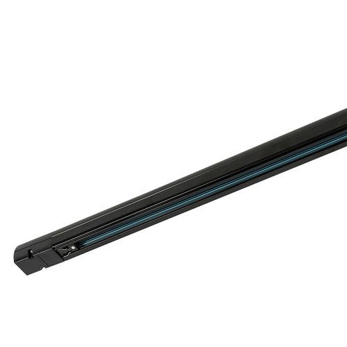 3 phase track - 1 m black LED