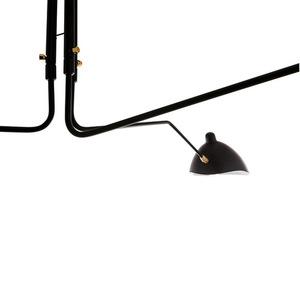 Czarna Lampa Wisząca Davis E27 6-punktowa small 1