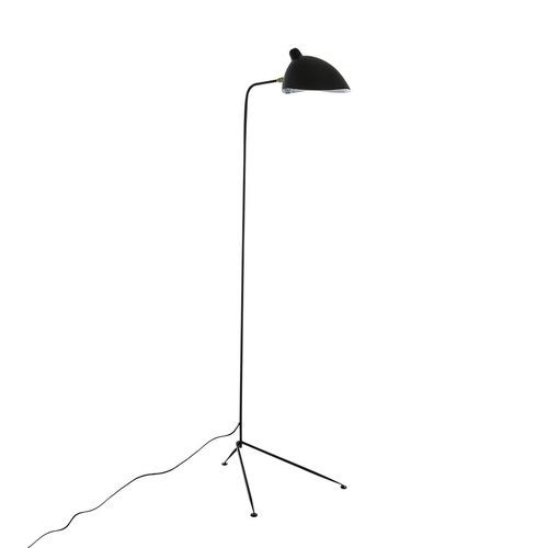 Czarna Lampa Stojąca Davis E27
