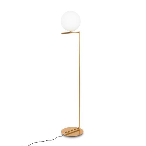 Mosiądz Lampa Stojąca Mondo E27