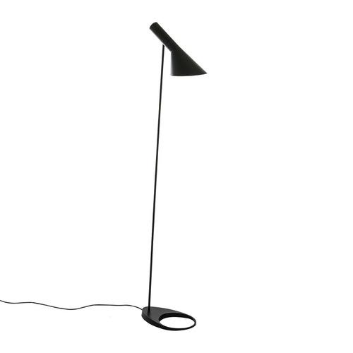 Czarna Lampa Stojąca Volta E27