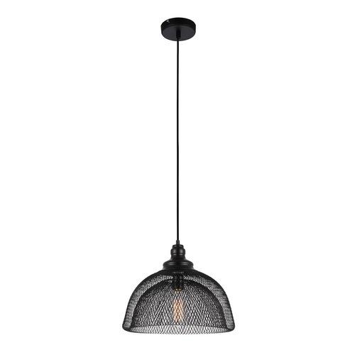 Czarna Lampa Wisząca Julienne E27