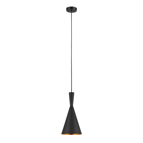 Czarna Lampa Wisząca Pedro E27 2-punktowa