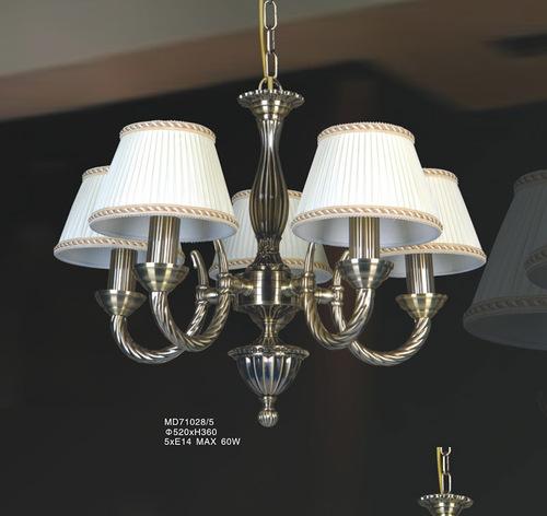 Stylizowana Lampa Wisząca Frati E14 5-punktowa