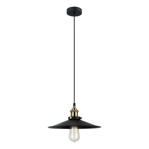 Czarna Lampa Wisząca Kermio E27