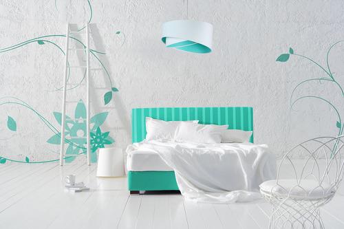 Lampa dla nastolatka Elegance 60W E27 biały / kolory