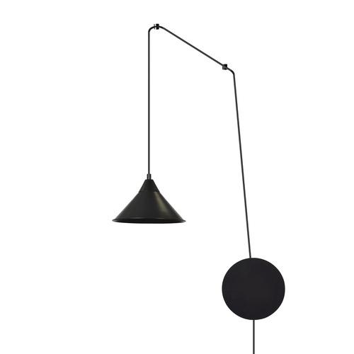 LAMPA WISZĄCA ABRAMO 1 BLACK