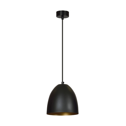 LAMPA WISZĄCA LENOX 1 BLACK / GOLD