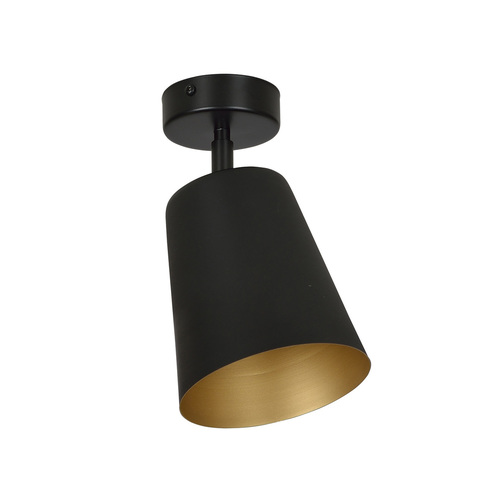 Czarny reflektor PRISM 1 BLACK / GOLD