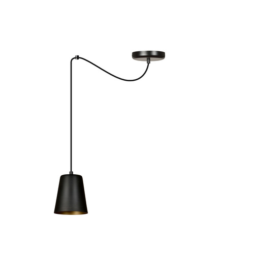 LAMPA WISZĄCA LINK 1 BLACK / GOLD