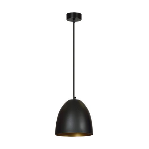 LAMPA WISZĄCA HARIS 1A BLACK/GOLD