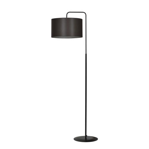 LAMPA STOJĄCA TRAPO LP1 BLACK / WENGE