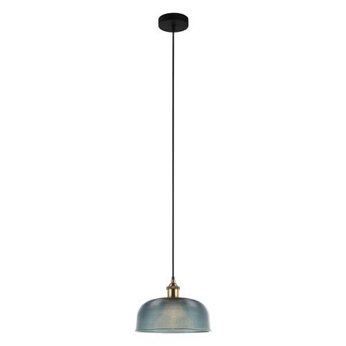 Niebieska Lampa Wisząca Davide E27