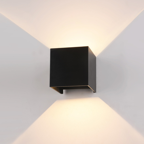 Czarny Kinkiet Zewnętrzny Sorento LED