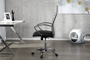 INVICTA fotel biurowy DEAL czarny small 1
