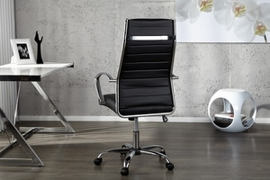 INVICTA fotel biurowy DEAL czarny small 2
