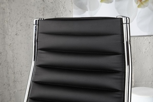 INVICTA fotel biurowy DEAL czarny small 3