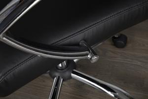 INVICTA fotel biurowy DEAL czarny small 4