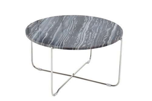 INVICTA stolik NOBEL srebrny
