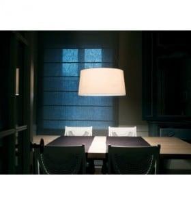 Lampa wisząca Kundalini Tripod Ecru 3x100W E27 small 1