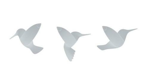 UMBRA dekoracja ścienna HUMMINGBIRD - biały