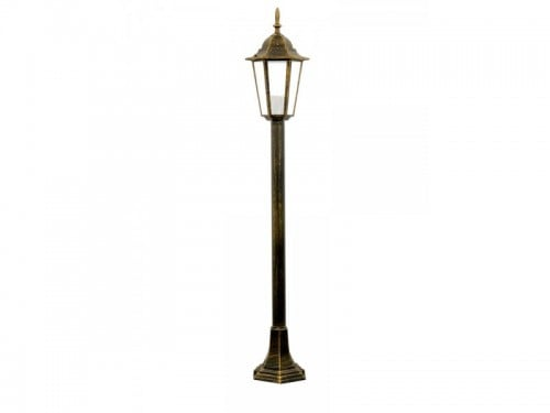 Lampa ogrodowa alum POLUX LIGURIA-LT GLA104LTMPT metrowa patyna